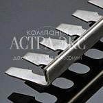 Г-образный напольный гибкий профиль TRD из нержавеющей стали