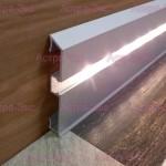 Плинтус светодиодный из алюминия BIL 70