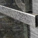 Декоративная  вставка PU  из нержавеющей стали