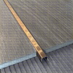 Цветная П-образная вставка PU из нержавеющей стали(Под заказ от 10 шт.)