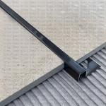 П-образный профиль нержавеющей стали для напольных поверхностей
