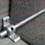 Ковродержатель TTO D= 9  мм из алюминия